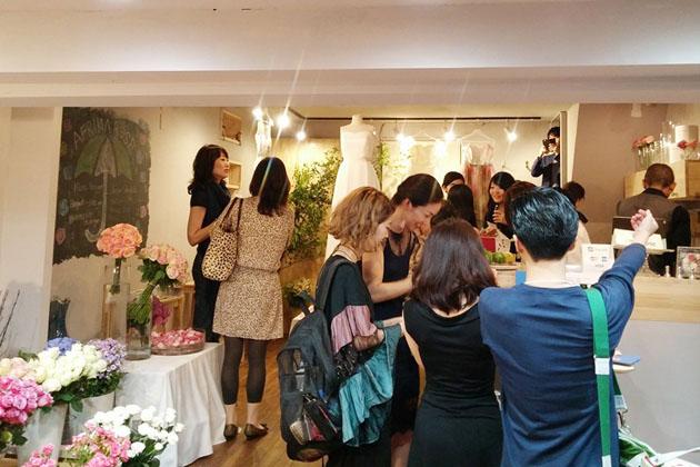 rose museum wedding box reception1