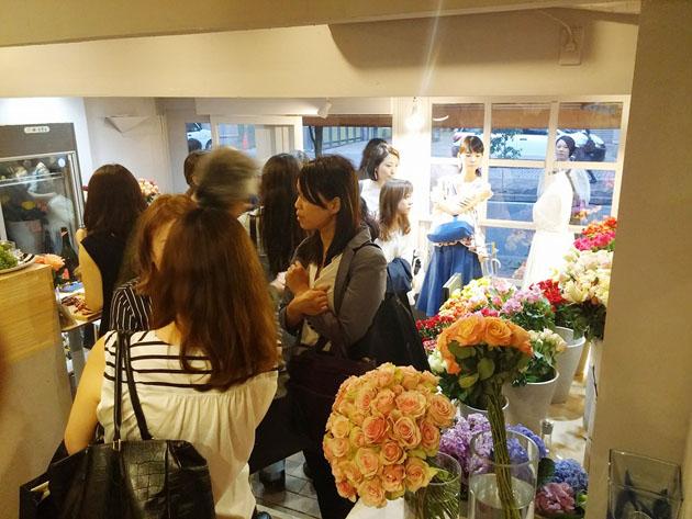 rose museum wedding box reception2