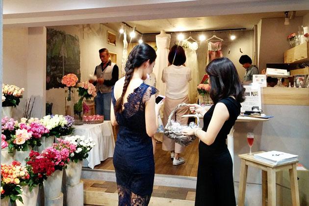 rose museum wedding box reception4