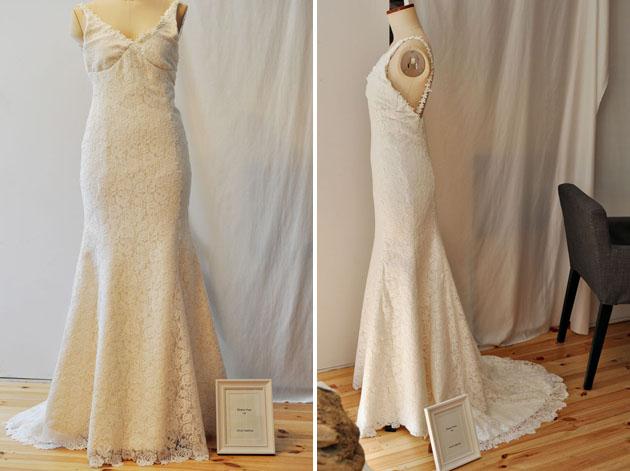 vivat veritas mermaid wedding dress