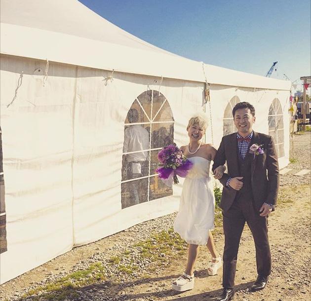 wedding circus x vivat veritas dress