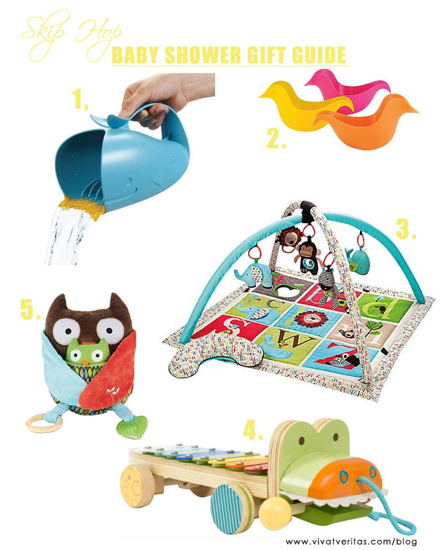 baby shower gift guide with skip hop