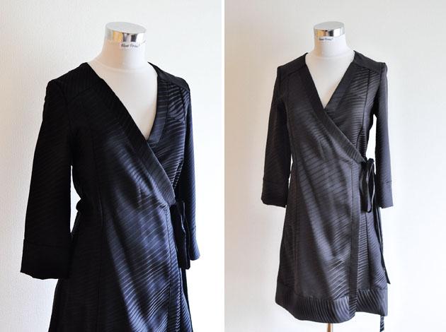 black kimono wrap