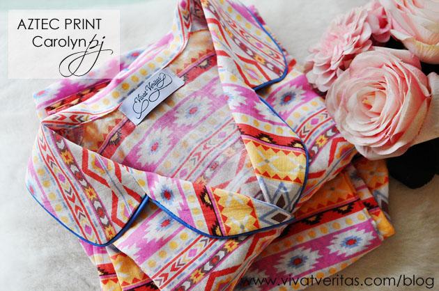aztec-print-carolyn-pajamas-vivat-veritas-blog