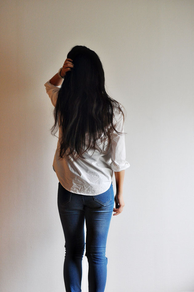 back-view-white-ginger-button-up
