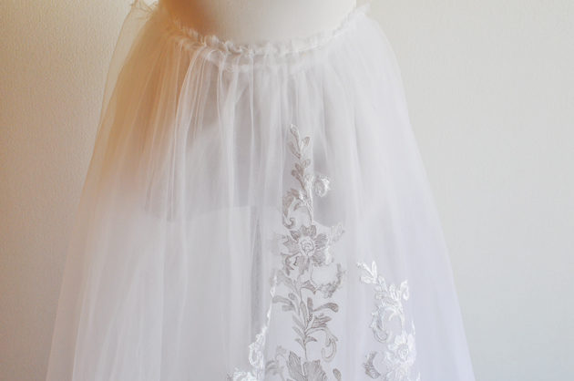 olivia palermo inspired wedding dress handmade