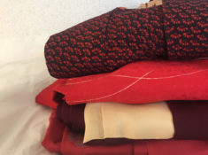 antique silk kimonos