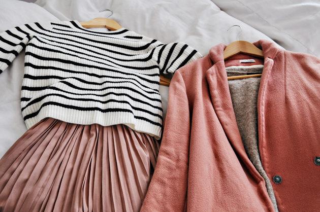 pink handmade chester coat